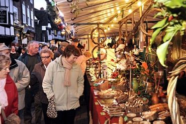 Worcester Christmas Market: £22 per person