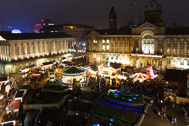 Birmingham Christmas Market: £20 per person